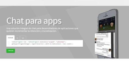 Yakmob, un chat que puedes integrar en tus apps ¡Gratis!