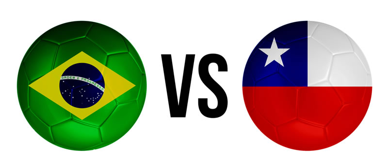 Partido Brasil vs Chile en vivo este 28 de Junio ¡No te lo pierdas! - brasil-vs-chile-en-vivo-octavos-de-final-mundial-2014