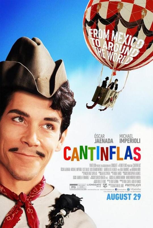 Tráiler de Cantinflas, polémica película protagonizada por actor español - cantinflas-539x800
