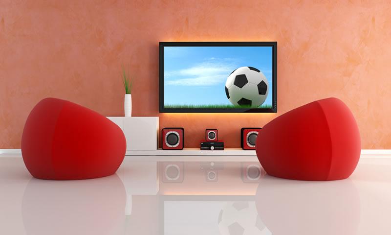 Arma el cuarto de TV ideal para disfrutar el mundial ¡Conoce todo lo que necesitas! - cuarto-tv-mundial