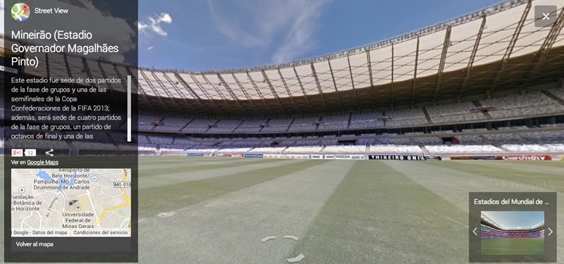 Visita los estadios del Mundial Brasil 2014 virtualmente - estadio-Mineirao-Brasil