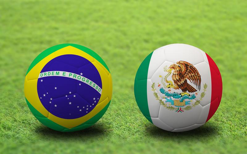 mexico vs brasil twitter México va ganando a Brasil en su duelo en Twitter ¡Apoya a la selección!