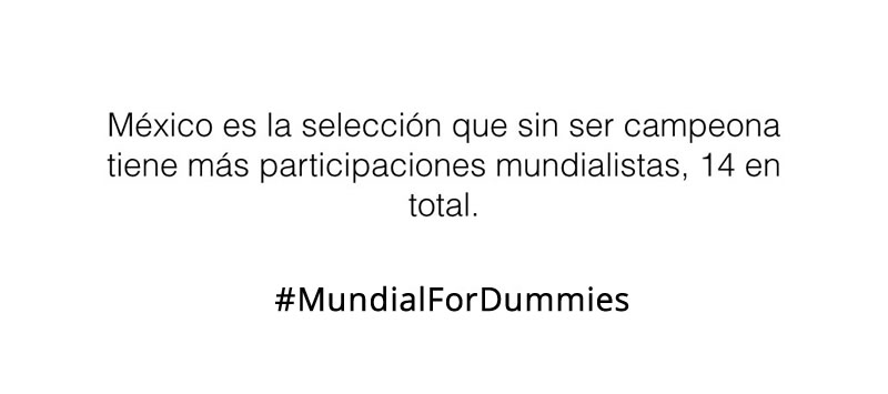 El Mundial para Dummies: Algunos datos que necesitas conocer - mundial-para-dummies