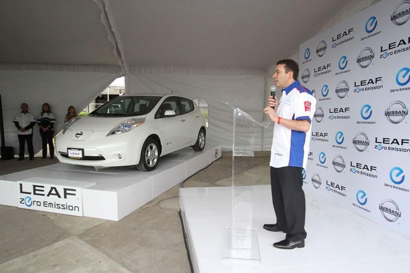 Nissan LEAF, el primer auto 100% eléctrico que se venderá en México - nissan-leaf-en-mexico