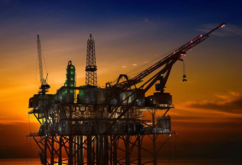 Conacyt diseñó cuatro máquinas para extraer petróleo - plataforma-petrolera