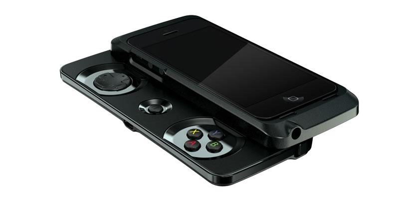 Razer Junglecat, el gamepad que convierte tu iPhone en consola de juegos - razer-junglecat-gamepad-iphone-negro