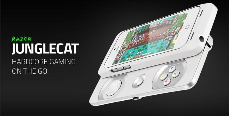 Razer Junglecat, el gamepad que convierte tu iPhone en consola de juegos - razer-junglecat-gamepad-iphone