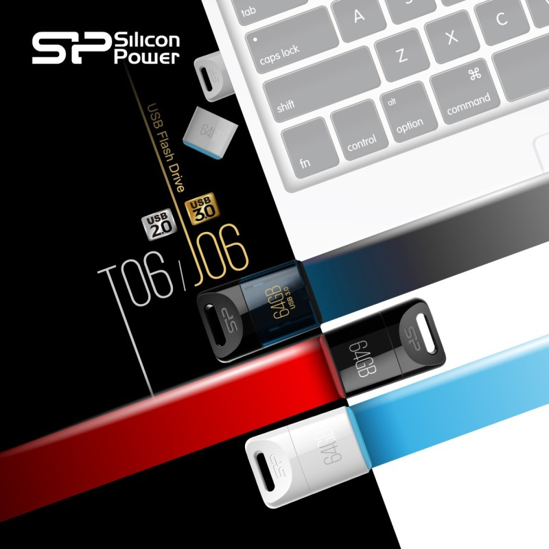 Silicon Power presenta sus nuevas memorias flash mini: Touch T06 USB 2.0 y Jewel J06 USB 3.0 - sp-800x800