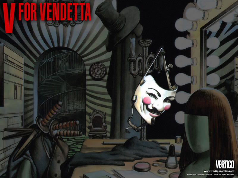 V for Vendetta y otros cómics de Vertigo llegan a México en español - v-for-vendetta-comics