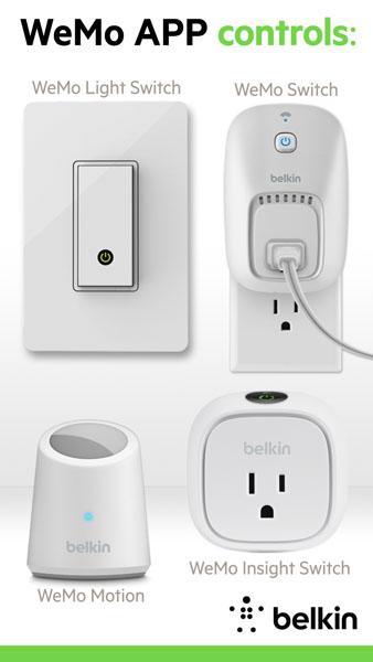 Belkin WeMo controla las conexiones caseras desde tu celular - wemo_app-controls