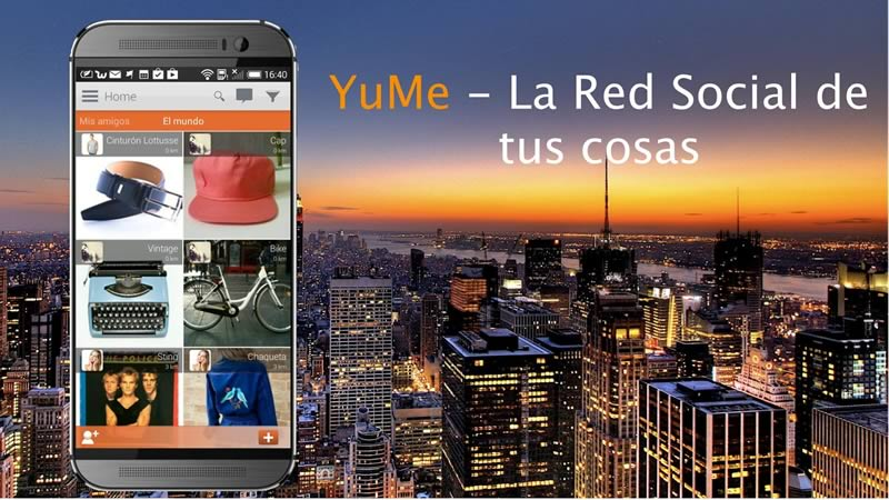 Vende, intercambia o renta tus cosas con YuMe - yume
