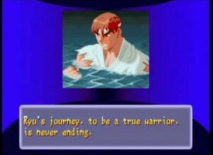 SFAlpha2 Ryu Ending copy article image Ryu de Street Fighter cumple 50 años ¡Conócelo a través de su historia!