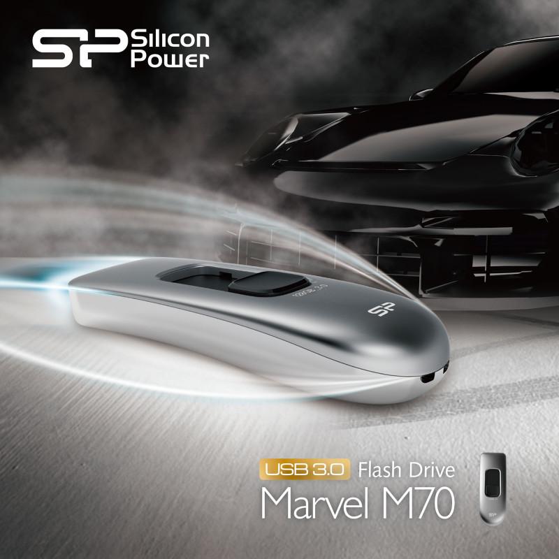 Marvel M70, nueva memoria flash ultra-rápida USB 3.0 de Silicon Power - SPPR_Marvel-M70-USB-3.0-Flash-Drive_KV-800x800