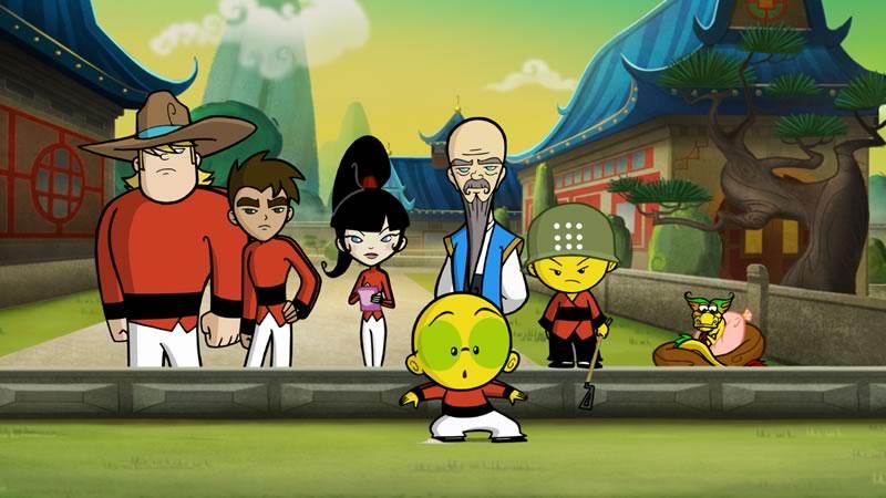 Xiaolin Chronicles, nuevo show de Cartoon Network - Xiaolin-Chronicles