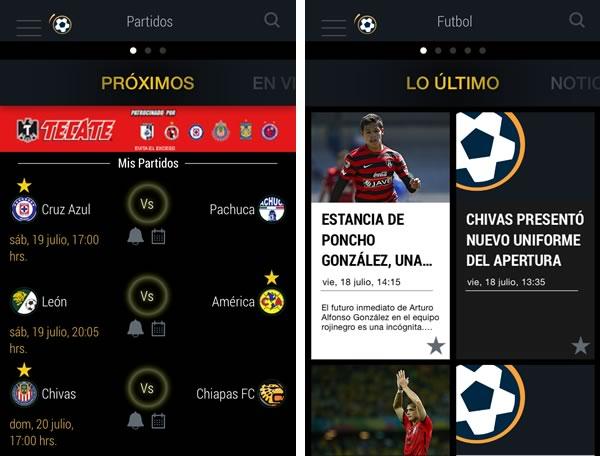 app mediotiempo 5 apps para seguir el torneo apertura 2014 de la liga MX