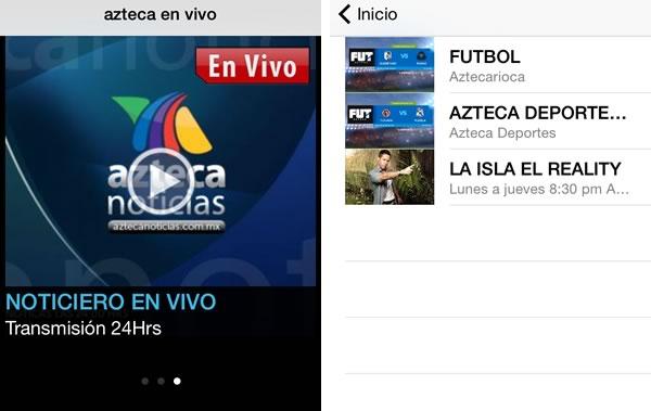 app tv azteca en vivo 5 apps para seguir el torneo apertura 2014 de la liga MX