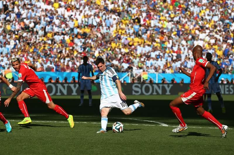 Revive los partidos de Octavos de final del Mundial 2014 - argentina-vs-suiza-octavos-de-final