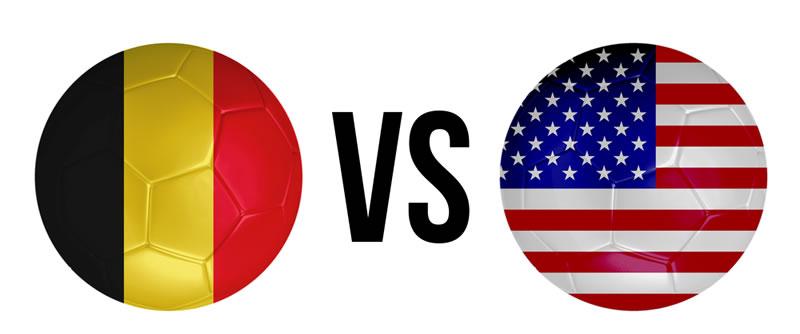 belgica vs estados unidos en vivo octavos de final Bélgica vs Estados Unidos en vivo en internet este 1 de Julio