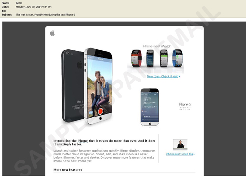 Rumores del iPhone 6 son usados para estafar online ¡Cuidado! - estafa-iphone-6