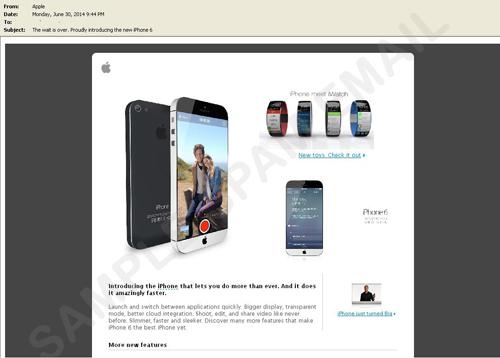 estafa iphone 6 Rumores del iPhone 6 son usados para estafar online ¡Cuidado!