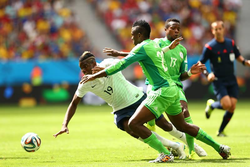 Revive los partidos de Octavos de final del Mundial 2014 - francia-vs-nigeria-octavos-de-final