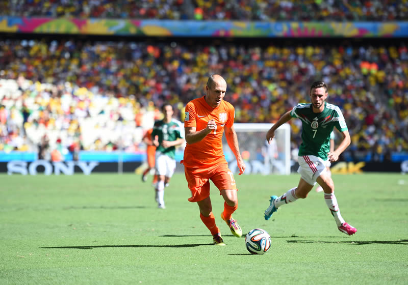 Revive los partidos de Octavos de final del Mundial 2014 - mexico-vs-holanda-en-octavos-de-final