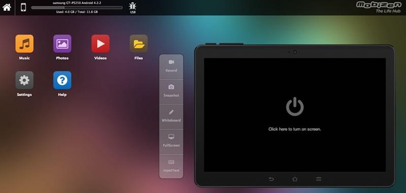 Controla tu Android desde tu computadora con Mobizen - mobizen