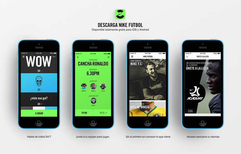 """Nike Fútbol, la app que te permite organizar """"cascaritas"""" de futbol y más - nike-futbol-app"""