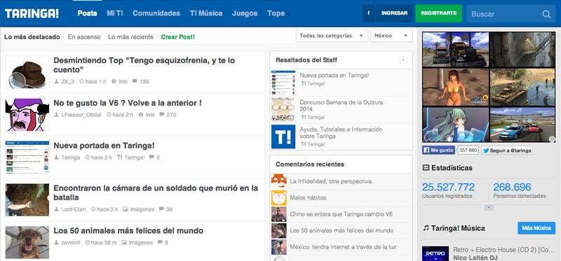 Taringa! lanza nuevo diseño por sus 10 años - nuevo-diseno-de-taringa