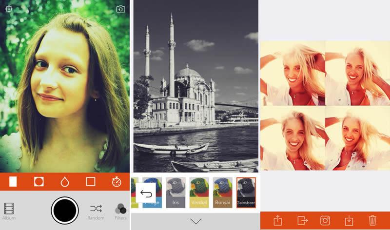 Retrica, la app para tomar selfies y fotos vintage que estabas buscando - retrica-app-tomar-selfies
