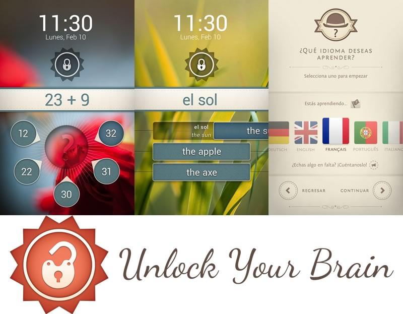 Con UnlockYourBrain desbloquea tu celular y aprende idiomas - unlockyourbrain