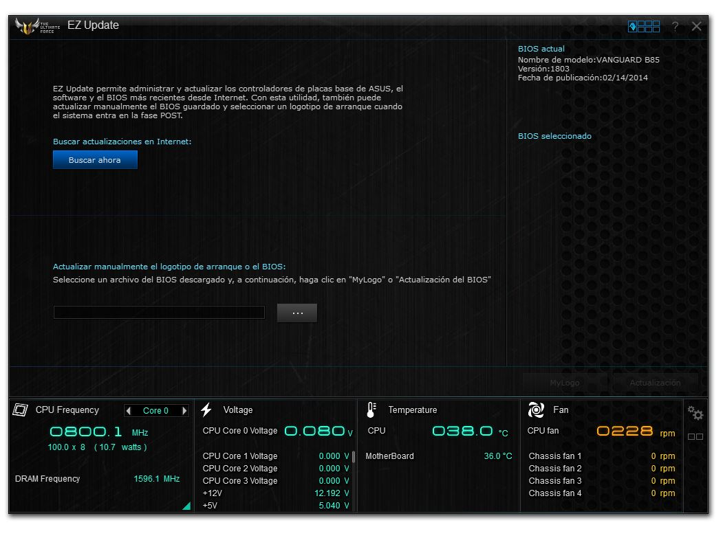 Motherboard ASUS Vanguard B85 [Reseña] - 193