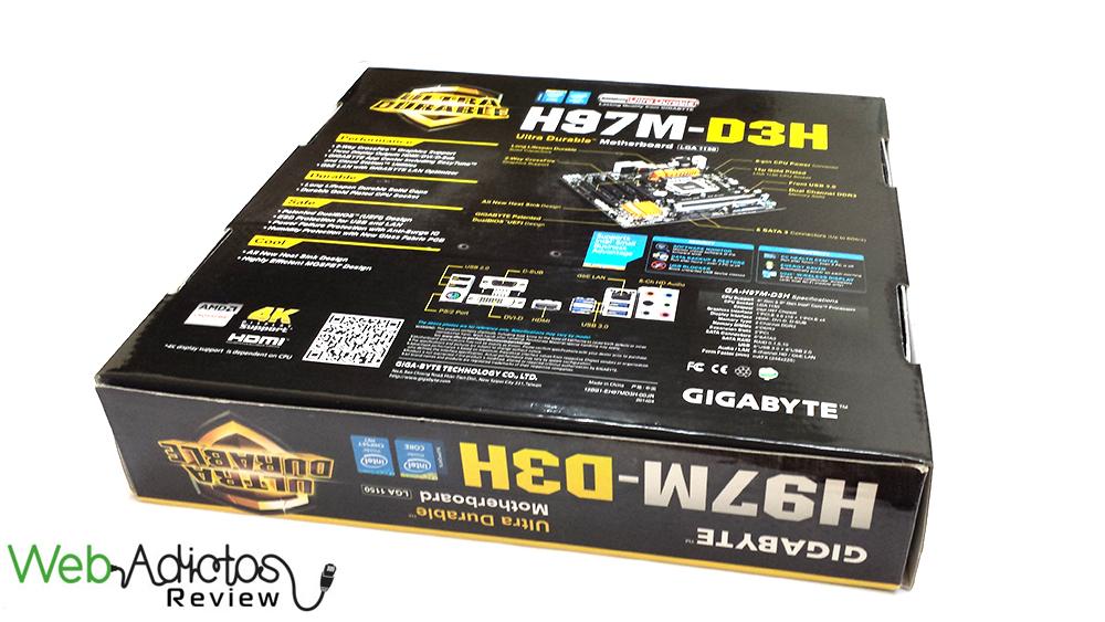 Gigabyte H97M-D3H [Reseña] - 3