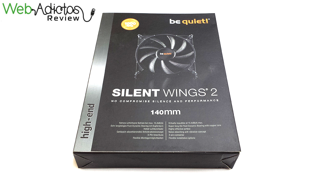 64 Be Quiet! Silent Wings 2 & Pure Wings 2 [Reseña]