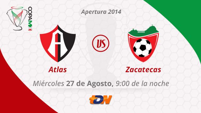 Atlas vs Mineros, Copa MX Apertura 2014 (Vuelta) - Atlas-vs-Mineros-en-vivo-Copa-MX-Apertura-2014-Vuelta