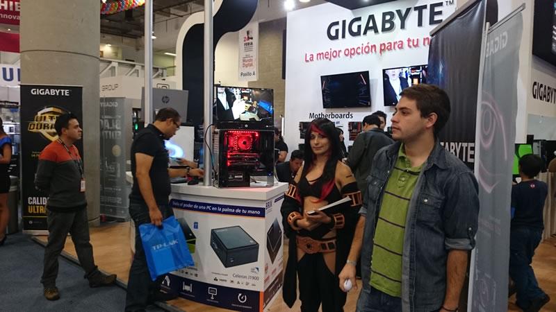 GIGABYTE Technology se presentó con éxito en la 24a Feria Internacional de Computación y Electrónica - GIGABYTE-Feria-de-la-Tecnologia