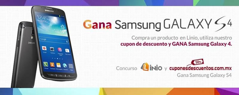 Ahorrar es triunfar: Gana un Samsung Galaxy S4 con CuponesDescuentos.com.mx y Linio - Ganar-Samsung-Galaxy-S4