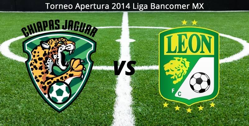 Jaguares vs León, Jornada 4 del Apertura 2014 - Jaguares-vs-Leon-en-vivo-Apertura-2014