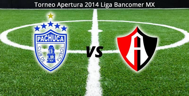 Pachuca vs Atlas, Jornada 6 del Apertura 2014 - Pachuca-vs-Atlas-en-vivo-Apertura-2014