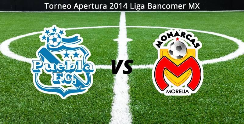 Puebla vs Morelia, Jornada 7 Apertura 2014 - Puebla-vs-Morelia-en-vivo-Apertura-2014