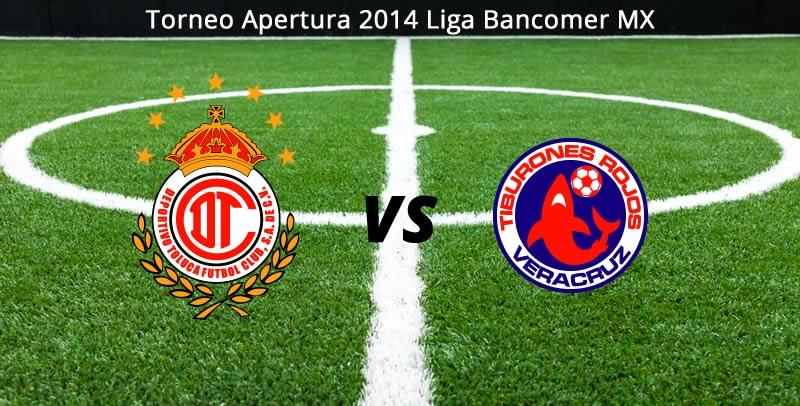 Toluca vs Veracruz, Jornada 7 del Apertura 2014 - Toluca-vs-Veracruz-en-vivo-Apertura-2014