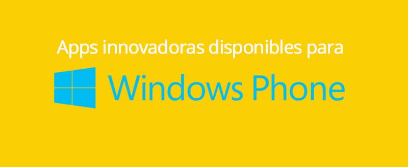 Aplicaciones Para Windows Phone