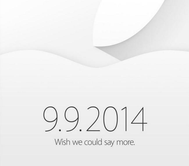 Apple confirma evento para el iPhone 6 este 9 de septiembre - apple-evento-iphone-6