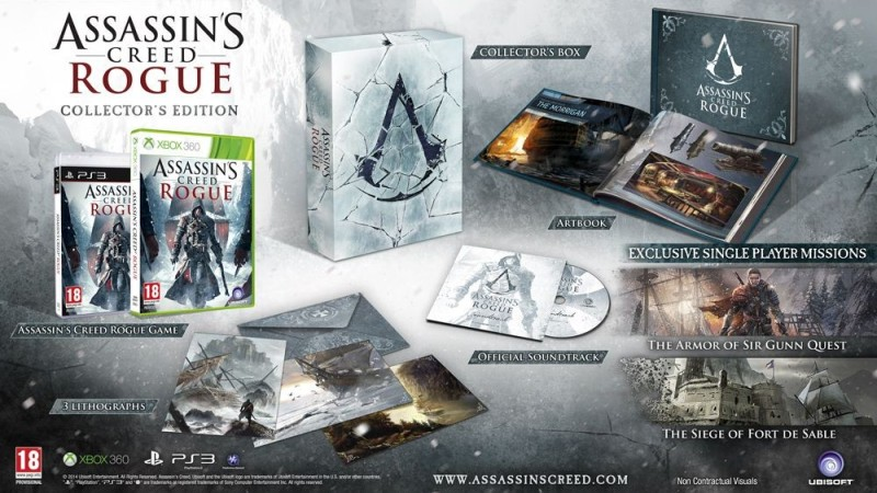 ¡Es oficial! Assassin's Creed Rogue llegará a Xbox 360 y PS3 - assassins-creed-rogue-800x450