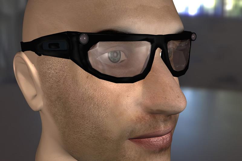 gafas para invidentes del IPN Crean bastón virtual para invidentes en el Politécnico