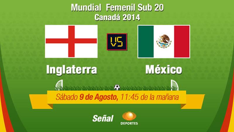 México vs Inglaterra, Mundial Femenil Sub 20 - mexico-vs-inglaterra-en-vivo-femenil-sub-20