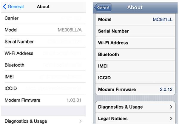 Apple reemplaza gratis la batería de algunos iPhone 5. Entérate si el tuyo participa - numero-de-serie-iphone