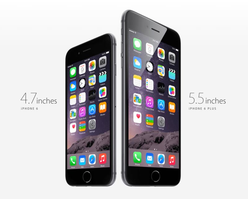 APPLE IPHONE 6 IPHONE 6 PLUS 800x641 Estos son los nuevos iPhone 6 y iPhone 6 Plus