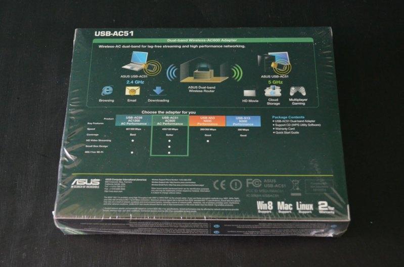 Adaptador de red inalámbrico ASUS USB-AC51 [Reseña] - ASUS-Wireless-Adapter-AC600-2
