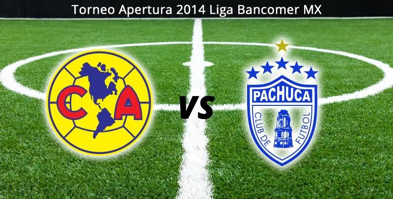 América vs Pachuca, Jornada 9 Apertura 2014 - America-vs-Pachuca-en-vivo-Apertura-2014